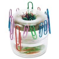 OIC Officemate Euro Style Designer Paper Clip Holder - (1/Each)