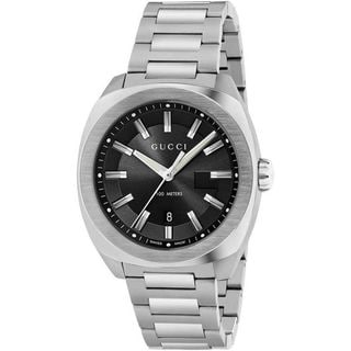 Gucci Men's YA142201 'GG2570 XL' Stainless Steel Watch