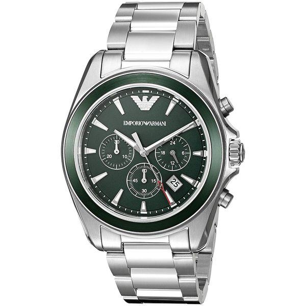 5e021fd1 Emporio Armani Men's AR6090 'Sportivo' Chronograph Stainless Steel Watch