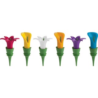 Trudeau 0970166 Duo Tone Bottle Stopper Assorted