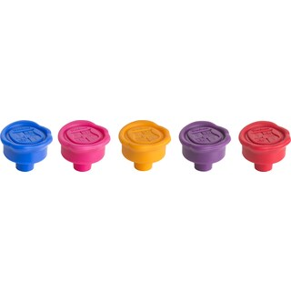 Trudeau 0978060 Wax Seal Bottle Stoppers Assorted Colors 2 Count