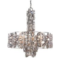 Crystorama Sterling Collection 8-light Distressed Twilight Chandelier