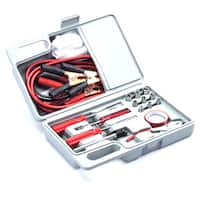 Roadside Emergency Auto Tool Kit (26-piece Set)