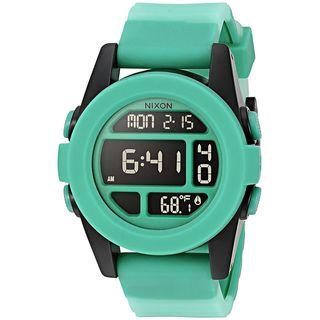 Nixon Men's A197-2234 'Digital' Digital Green Silicone Watch