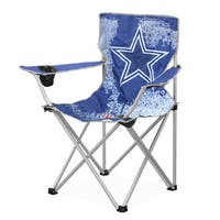 NFL Dallas Cowboys Canvas Camp Chair with Metal Legs