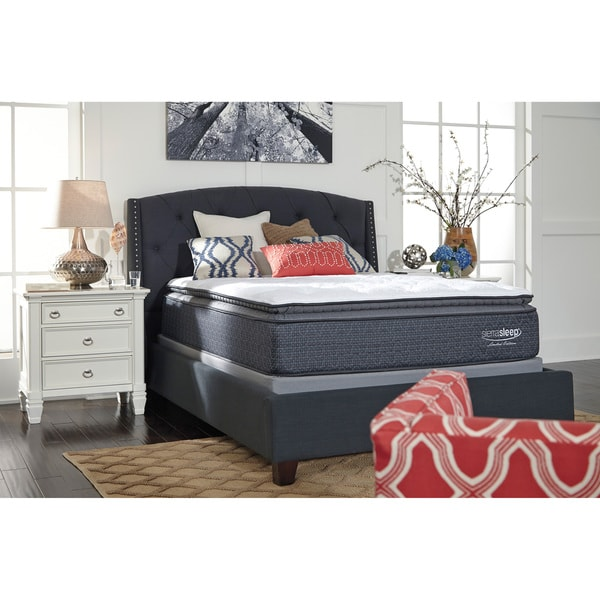 signature design by ashley limited edition pillow top twin size mattress free shipping today. Black Bedroom Furniture Sets. Home Design Ideas