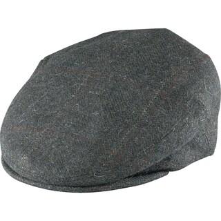 Henschel 3 PT Grey Wool Italian-made Ivy Cap