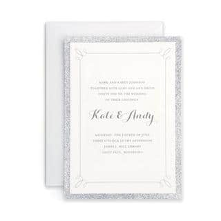 Silver Glitter Invitations (Case of 25)|https://ak1.ostkcdn.com/images/products/13164312/P19889573.jpg?impolicy=medium