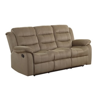 Coaster Company Tan Motion Reclining Sofa