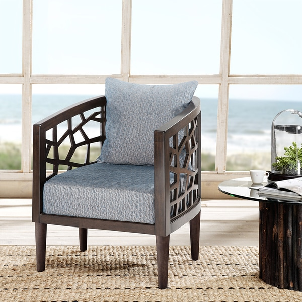 Carson Carrington Lihula Blue Lounge Accent Chair. Opens flyout.
