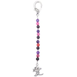 Healing Stones for You 'Attract Love' Beaded Purse Charm