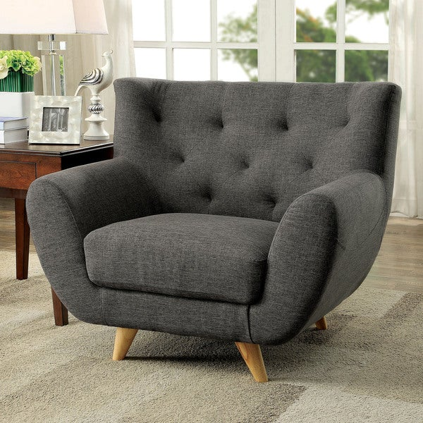 Sites Like Overstock For Furniture: Shop Furniture Of America Rina Mid-Century Modern Tufted