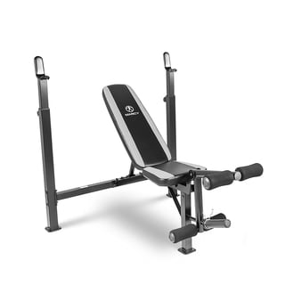 Marcy Olympic Steel/Vinyl/Rubber Workout Bench