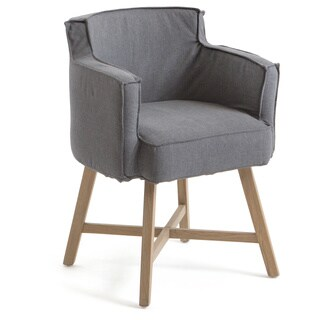 Hip Vintage Grey Cotton Stowe Dining Chair