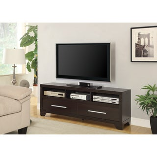 Coaster Company Cappuccino Brown Wood TV Console
