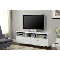 Coaster Company Coastal White TV Console With Drawers