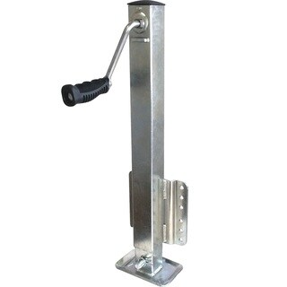 SeaSense Unified Marine Zinc-coated Steel 2,500-pound Square Tube Trailer Jack