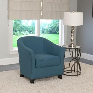 CorLiving Shirley Modern Linen Club Chair