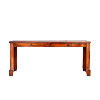 Forest Designs Shaker Alder Wood Writing Table With Drawers