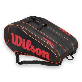 Wilson Burn Team 12-pack Tennis Bag