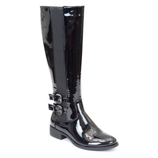 Gc Shoes Women's Cassie Black Patent Knee-high Boots