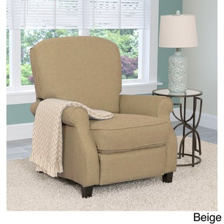 CorLiving Noah Linen Fabric Recliner Armchair