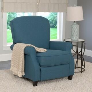 CorLiving Noah Linen Fabric Recliner Armchair