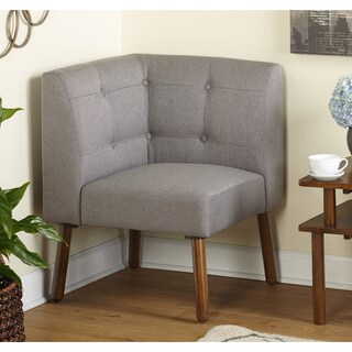 Simple Living Wood Fabric Playmate Corner Chair