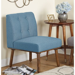 Simple Living Playmate Armless Accent Chair - N/A (2 options available)