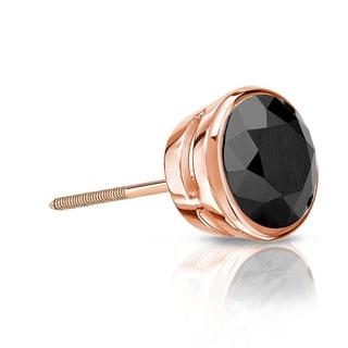 8b35db5cd Buy Black Men's Earrings Online at Overstock   Our Best Men's Jewelry Deals