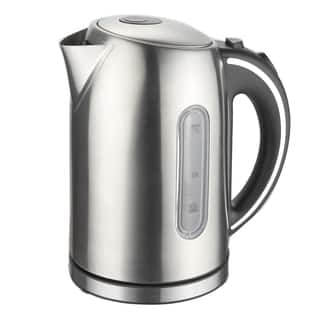 Mega Chef 1.7-liter Stainless Steel Electric Tea Kettle|https://ak1.ostkcdn.com/images/products/13164514/P19889738.jpg?impolicy=medium