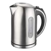 Mega Chef 1.7-liter Stainless Steel Electric Tea Kettle