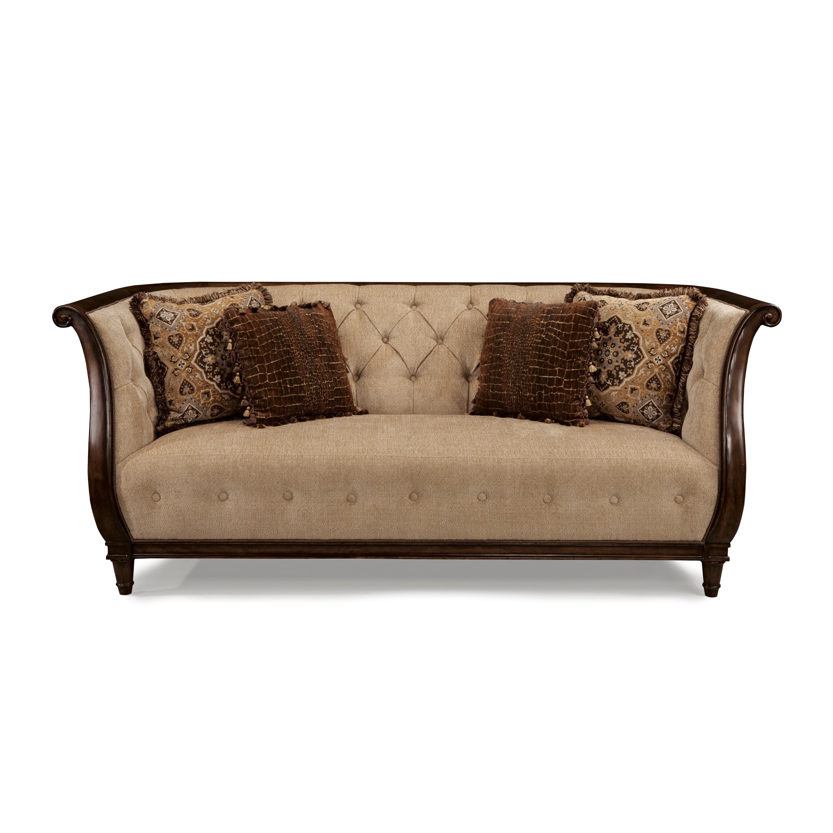 Brilliant A R T Furniture Ava Adele Tufted Back Sofa Ncnpc Chair Design For Home Ncnpcorg
