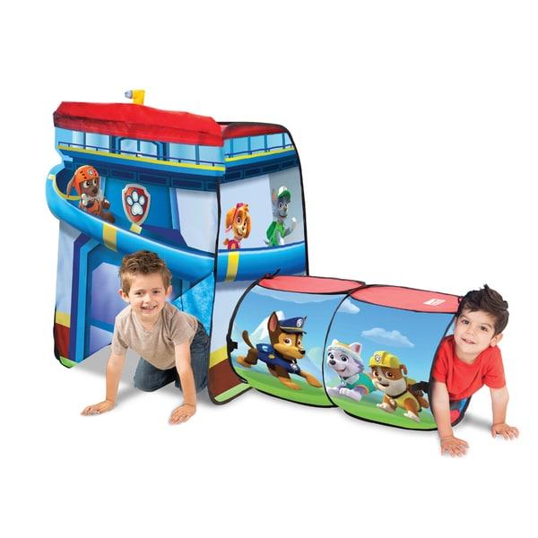 Playhut Kids Paw Patrol Explore 4 Fun Play Tent
