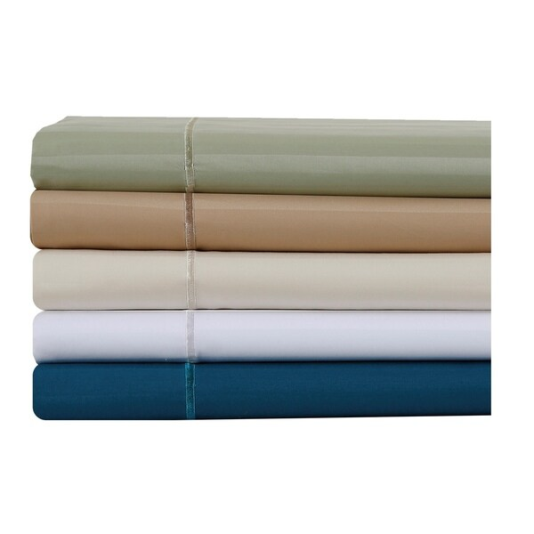 Affluence 500 Thread Count Striped Cotton Sheet Set