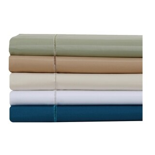 Affluence 500 Thread Count Striped Cotton Sheet Set