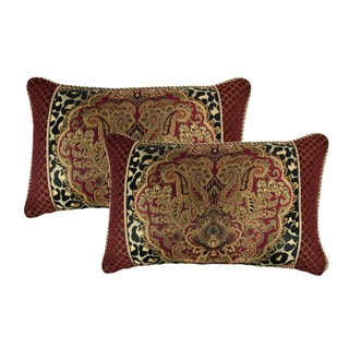 Sherry Kline Tangiers Boudoir Cord Decorative Pillow (Set of 2)