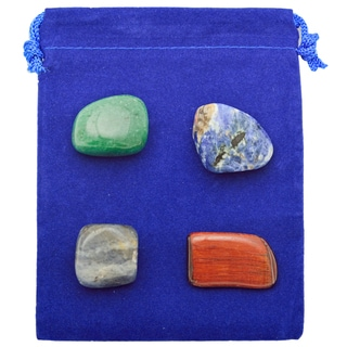Healing Stones for You Stimulate Metabolism Intention Stone Set (SMA)
