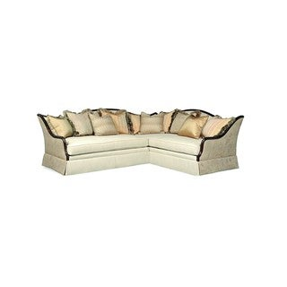 A.R.T. Furniture Ava Creme Left Arm Facing Loveseat