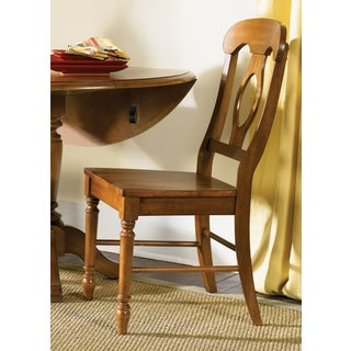 Low Country Suntan Bronze Napolean Back Side Chair