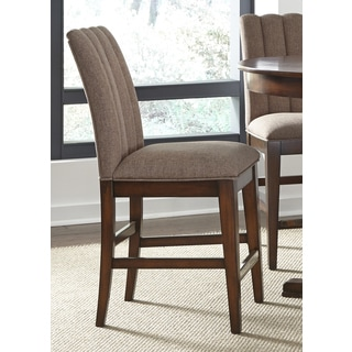 Mirage Cinnamon Upholstered Counter Height Barstool