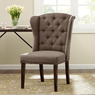 Madison Park Lydia Taupe Dining Chair