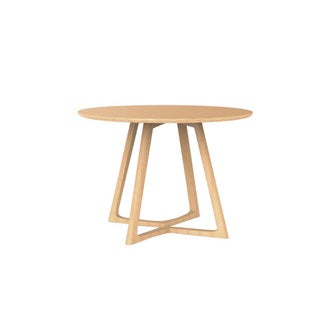 Malmo Ashtree Round Dining Table