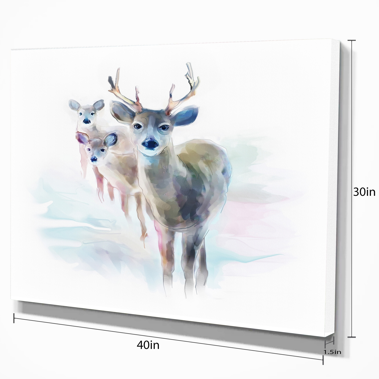 mule deer wall art Animal horns print extra large canvas print minimalist wall art modern wildlife art oversize wall art Colorado art