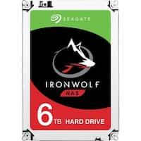 "Seagate IronWolf ST6000VN0041 6 TB 3.5"" Internal Hard Drive - SATA"