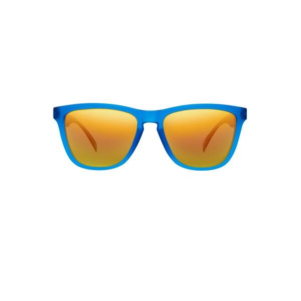 Blue Sunglasses Transprnt Frm