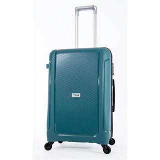 WestJet Luggage Adventure Teal 24-inch Expandable Hardside Spinner Suitcase