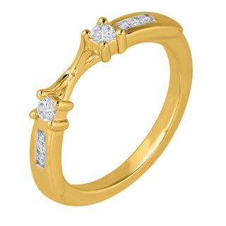 14k Yellow Gold 1.4CTtw Diamond Wrap Ring (I1-I2, I-J)