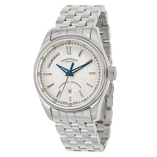 Armand Nicolet Men's M02 Silver Stainless Steel Watch