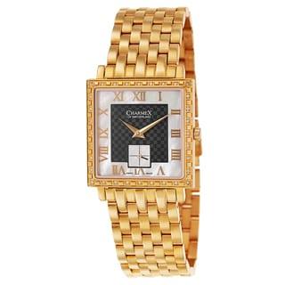 Charmex Women's Rose Gold Stainless Steel Swiss Quartz Watch